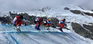 Fast Live-Bericht aus dem Skicross-Training von «Biski»