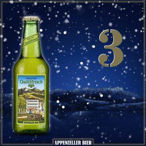 Adventskalender 3: Quöllfrisch hopfig-herb