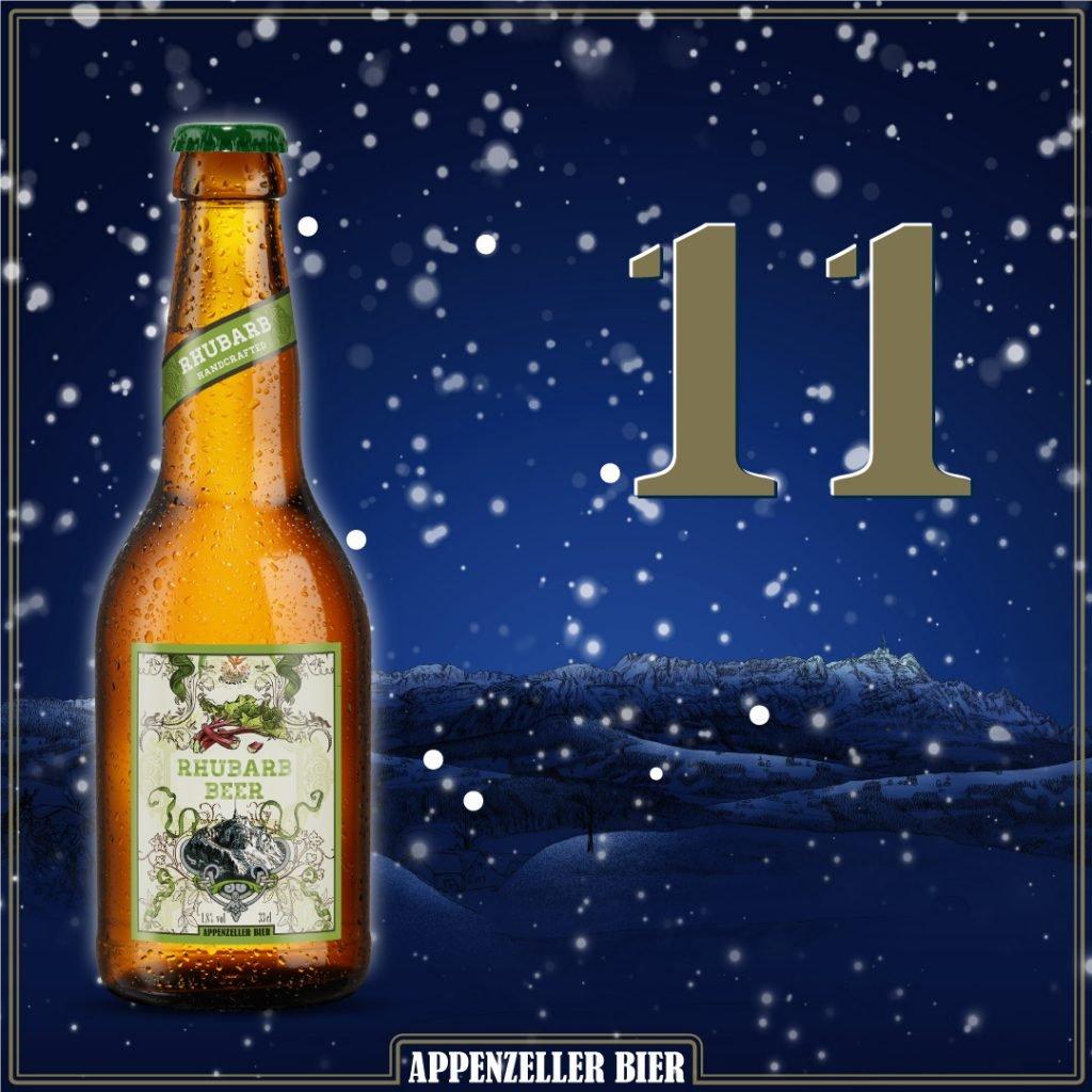 Adventskalender Nr. 11: Rhubarb Beer
