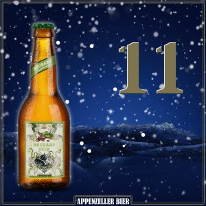 Adventskalender Nr. 11: Rhubarb Beer