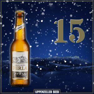 Adventskalender Nr. 15: Gran Alpin Perla