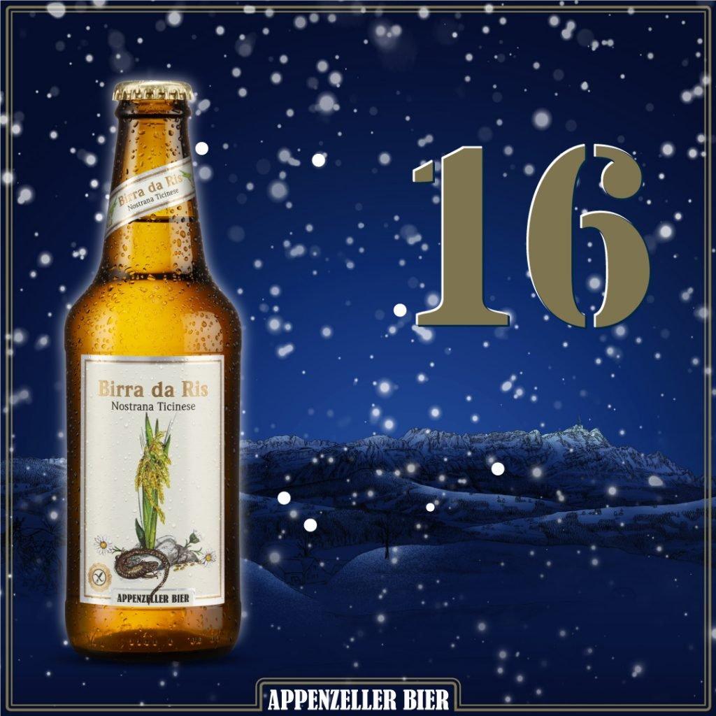 Adventskalender Nr. 16: Birra da Ris
