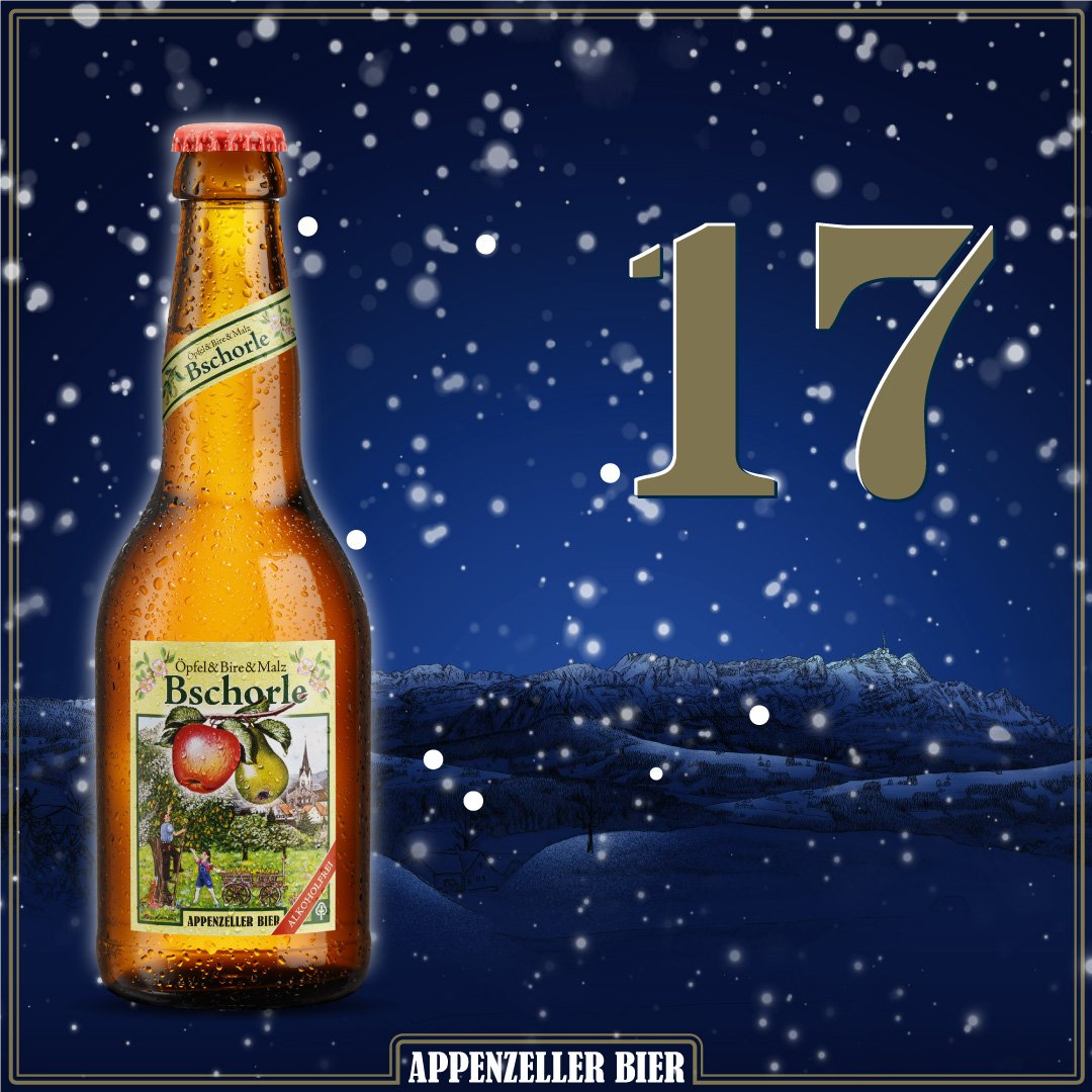 Adventskalender Nr. 17: Bschorle