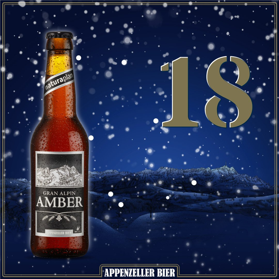 Adventskalender Nr. 18: Gran Alpin Amber