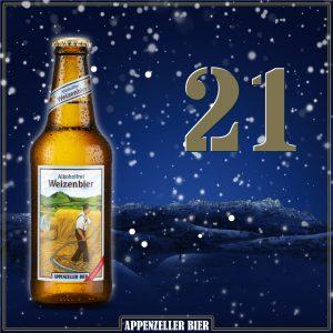 Adventskalender Nr. 21: Appenzeller Weizenbier alkoholfrei