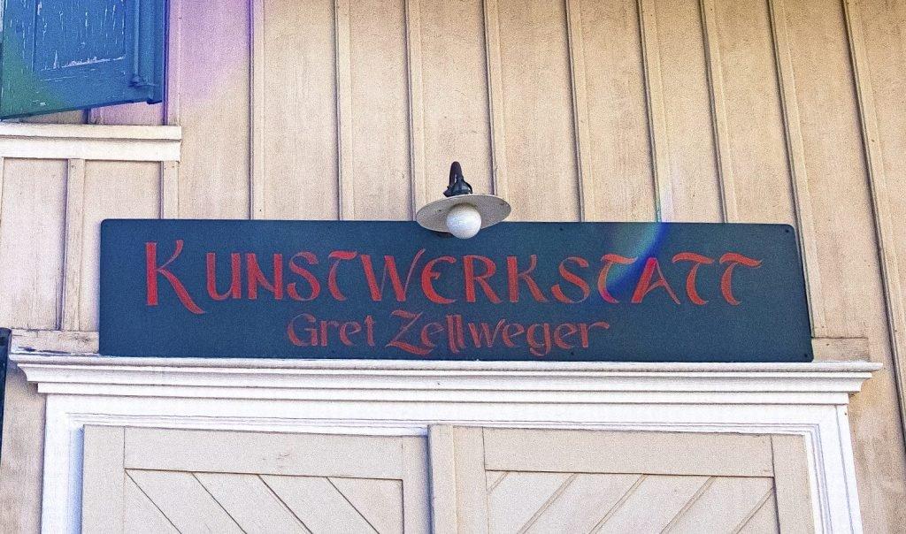 Gret Zellweger – quöllfrische Gegenwarts-Traditions-Kunst