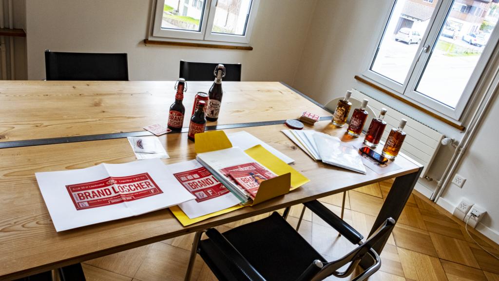 Sichtwerk löscht Brände mit Appenzeller Bier – schnell und wirksam!