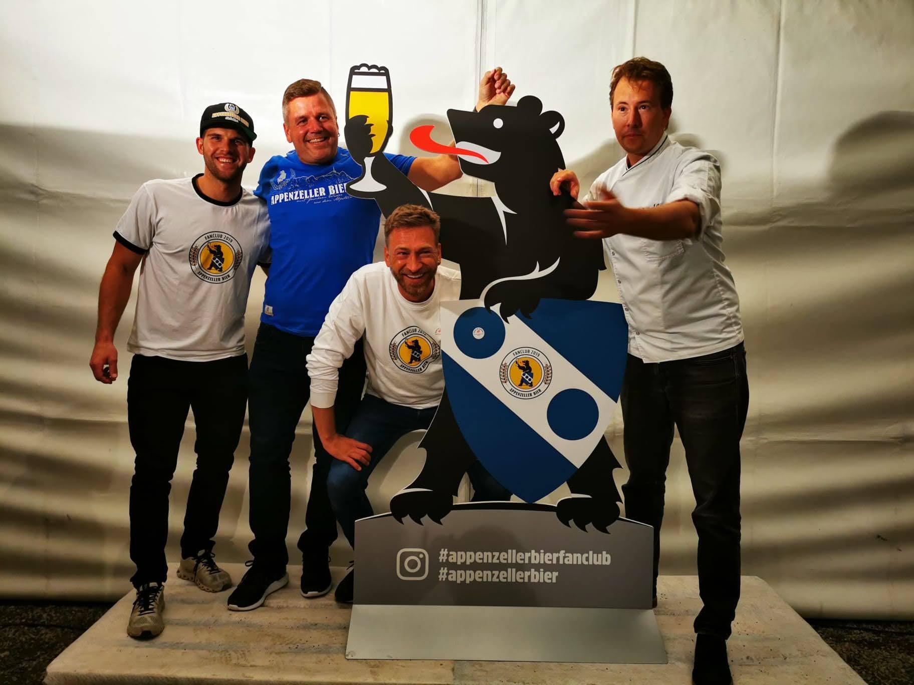 You are currently viewing Da steppt der Bär:  Das 1. Fan-Fest des Appenzeller Bier Fanclub ABFC2019 ist bereits wieder Geschichte